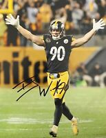 TJ Watt Autographed Signed 8x10 Photo ( Steelers ) REPRINT