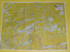 BWCA Canoe Map #109 Seagall-Saganaga-Northern Light Lakes Nice Graphics See!