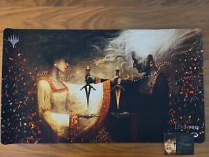 Seb McKinnon Limited Edition Playmat Cuombajj Witches numbered 140/800