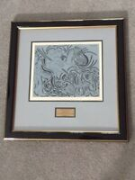 PICASSO HAND SIGNED LINOGRAVURE - PICADOR GOADING BULL - 1962, BY WILHELM BOECK