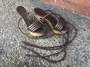 Coach Leather Shoes 7M