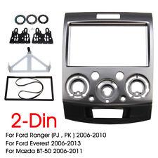 For Ford Ranger PJ PK Mazda BT-50 Car radio Double 2 DIN Stereo Fascia Panel