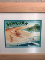 JOHN SEVERSON ORIGINAL PAINTING SURF ART