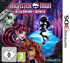 Monster High: Aller Anfang ist schwer Nintendo 3DS Spiel NDS