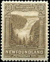 1928 Canada Mint Newfoundland 30c F-VF Scott #159 Pictorial Stamp Hinged