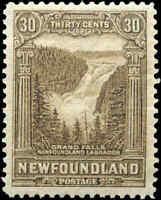 1928 Canada Mint H Newfoundland 30c F-VF Scott #159 Pictorial Stamp