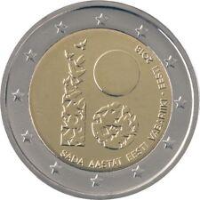 """2 euros conmemorativos Estonia 2018 - """"100 Años de la República""""- S/C ENVIO YA!!"""