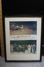 "The Matron Stake - Trot 1972 Colonial Charm Framed Photo Print 11 X 13"" (f)"