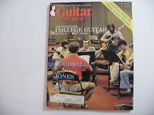 College Guitar Vintage Guitar Player Magazine August 1980