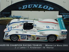 1/43 IXO AUDI R8 CHAMPION RACING TEAM #3 WINNER LE MANS 2005