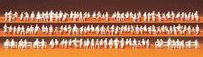 Preiser 79007 assis personnes. 120 figurines non-peintes, N
