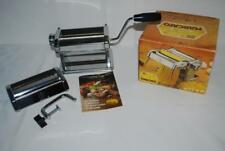 Vintage Atlas Pasta Maker Machine Stainless Steel Model 150 Excellent Condition