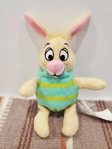"Disney Winnie The Poohs Friend Rabbit Dressed As Easter Egg 3"" Plush New No Tag"