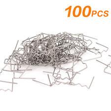 100pcs  Wave Staples New For Hot Plastic Stapler Repair Kits Welder 0.6mm