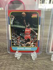 86 Fleer Michael Jordan Rookie - RP - Mint - Basketball Cards - MJ