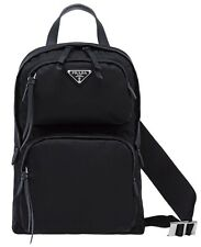 0e23ccb6f4ee2f PRADA One-Shoulder Backpack With Modern Design By Lather Trim Art.1BZ026