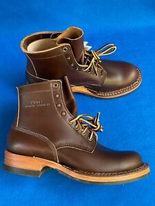 WHITE'S  BOOTS Horsehide Bounty Hunter BROWN SIZE 8 D INSOLE 10.5 inches/ 26.5cm