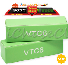 2x SONY 18650 IMR VTC6 3000MAH 40A High-Drain Battery Rechargeable Flat-Top Cell