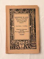 1944, Catalogo De La Exposicion De Arte Gotico Y Renacentista, SB, Lim/Num, VG