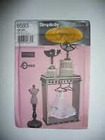 """Simplicity 9593 15.5"""" fashion doll Accessories Couturier Doll Clothes Hat Heigl"""