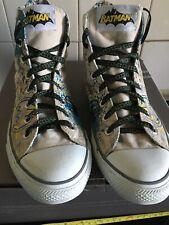 Converse All Star Trainers Boots Hi-Tops Batman Size 10