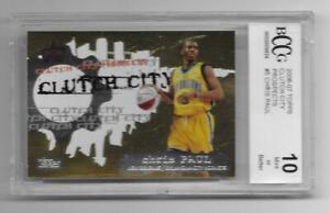 2006 07 Topps Prospects CHRIS PAUL phoenix suns MINT card bgs BCCG 10 NBA FINALS