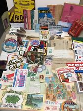 Huge Wholesale Old Paper Advertising Lot Matchbooks Blotter Stamps Beer (1000) +