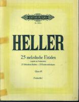 Heller - 25 melodische Etüden Opus 45 - Klavier