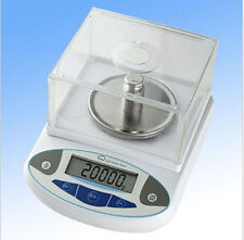 0.01g Accuracy Precision Digital Balance Scale+Windshield @ Lab/Pharmacy/Jewelry
