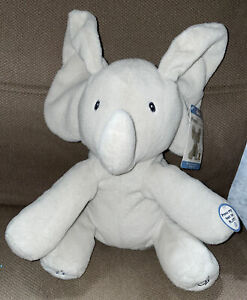 NEW NWT Sing & Play Peekaboo - Flappy the Elephant with Fresh Batteries SO Cute!