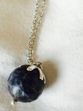 Pilgrim Skanderborg Blue Crystal Necklace  NWT Price $13.50