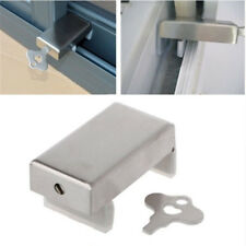 Door Window Lock Stopper Adjustable Thick Sliding Window Lock Safety Anti-Slip