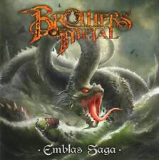 BROTHERS OF METAL - EMBLAS SAGA (2020) CD Jewel Case by Fono Music+GIFT