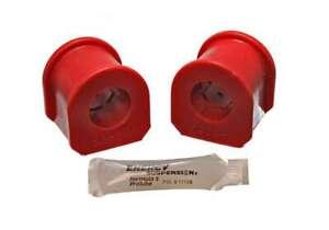 Energy Suspension 4-5111R (Kit) Bushing Kit Hyper-Flex Red Polyurethane