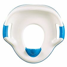 The First Years Soft Grip Trainer Seat, Blue, Potty Training, Toilet, NEW