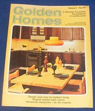 GOLDEN HOMES MAGAZINE #97 - HOME FABRICS - BUTTON BACK CHAIRS