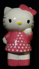 Hello Kitty Polka Dots Dress Ceramic Piggy Bank Animated RETRO Collectables