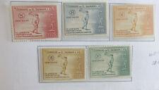 Salvador 1935 3rd Central American Games  set NHM
