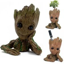 """Guardians of The Galaxy Vol. 2 Baby Groot 6"""" Flowerpot Figure Brush Pot Toy Gift"""