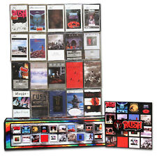 RUSH - 20 NEW/SEALED cassettes in a custom box set (1974 S/T– 2002 Vapor Trails)