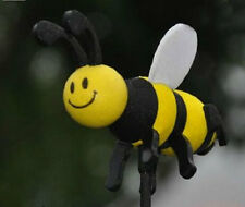 Car Antenna Toppers Smiley Honey Bumble Bee Aerial Ball Decor Topper New
