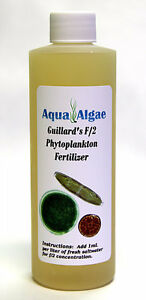 CONCENTRATED Guillard's F/2 Phytoplankton Fertilizer Nannochloropsis Tetra 8oz