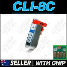 1x Cyan Ink for Canon CLI-8C iP5200 iP5200R iP5300 iP6600D iP6700D PRO9000