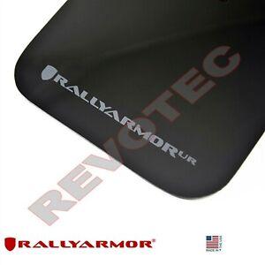 Rally Armor Mud Flaps For 09-13 Subaru Forester Black W/ Gray Logo