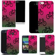 Étuis, housses et coques multicolores universels en plastique rigide pour téléphone mobile et assistant personnel (PDA)