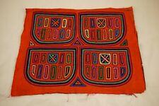 Originale Mola Indigena Kuna Panama Trachten Volkskunst Indianer Handarbeit