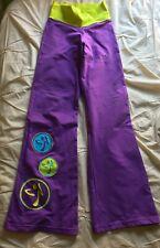 NEW Zumba Retro Flare Women's Yoga Style Pants Size XS