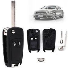 Guscio Ricambio Nero Per Chiave Telecomando Opel Vauxhall Astra Insignia + Lama