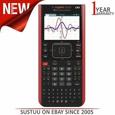 Texas Instruments NSPIRE CXII-T CAS Graphic Calculator|Data&Statistic|Black/Red