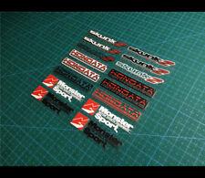 Small HONDATA SKUNK2 RACING Monster Sport Car interior Stickers Set